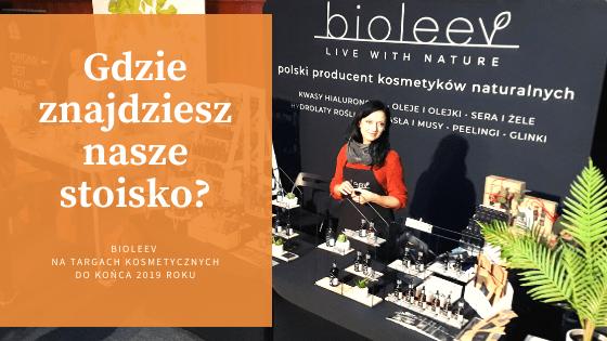Bioleev na targach kosmetycznych w 2019 roku