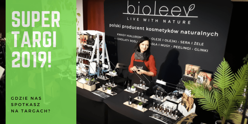 Kosmetyki naturalne Bioleev - oferta targowa Bioleev