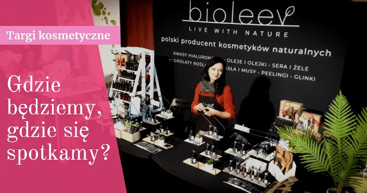 Bioleev na targach kosmetycznych w 2020 roku